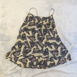 Butterfly print Tucker for Target top